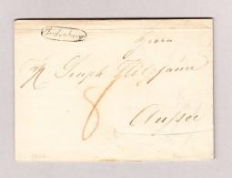 Österreich JUDENBURG Schreibschriftstempel Umkreist Vorphila Brief 1824 - Österreich