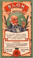 Etiket Etiquette - Genever - Genièvre - SLOK Oude Graangenever - Etiquettes