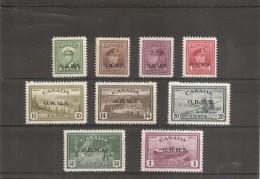 Canada ( Service 1/7 XXX -MNH) - Surchargés