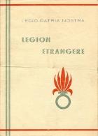PUBLICITE DE RECRUTEMENT DE LA LEGION ETRANGERE - Algeria (1924-1962)