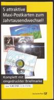 Germany Berlin 1. 1. 2000 / Maxi Cards For Second Millennium / Maxi - Postkarten Zum Jahrtausendwechsel - Other