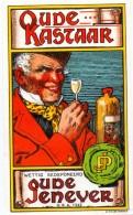 Etiket Etiquette - Genever - Genièvre - Oude Kastaar - Etiquettes