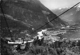 74-LES HOUCHES-MONT BLANC - LE TELEFERIQUE DE BELLEVUE - Les Houches