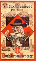 Etiket Etiquette - Genever - Genièvre - Oude Graangenever - Etiquettes