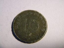 ALLEMAGNE - 10  REICHSPFENNIG 1944.A.