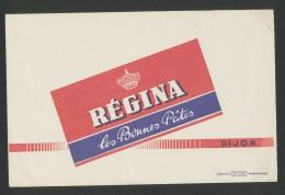 Buvard - REGINA -  Les Bonnes Pates - Buvards, Protège-cahiers Illustrés