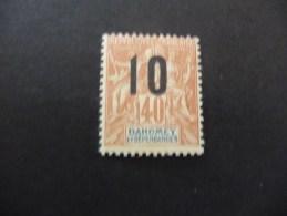 TIMBRE  DAHOMEY   N  39     COTE  2,10  EUROS  NEUF  SANS  CHARNIERE - Ongebruikt