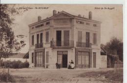 CPA Saint-Aygulf - La Maison Hôtel De La Commune - Saint-Aygulf