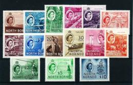 Borneo Del Norte  Nº Yvert  296/310 En Nuevo