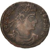 Constans, Nummus, 346-348, Siscia, TTB, Cuivre, RIC:264 - 7. L'Empire Chrétien (307 à 363)