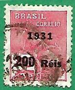 1747 ~  1931   BRESIL ~~ N° 235 ( Filigrame DOS (B) )  Oblitéré - Brésil