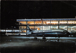 """AEROPORT DE PARIS ORLY- CARAVELLE """" AIR FRANCE """" SUR L4AIRE DE STATIONNEMENT - Aéroports De Paris"""