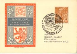 ALLEMAGNE BERLIN YVERT 74 SUR CARTE - Briefe U. Dokumente