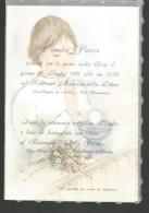 B2V63--  ITALIA, VARIE,   CARTONCINO DI PARTECIPAZIONE,  ,, PRIMA COMUNIONE,  1991, - Comunioni
