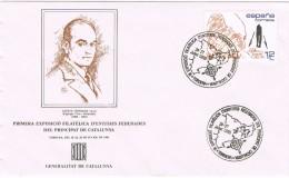 R 1074. Carta Exposicion TORDERA (Barcelona) 1985, Esteve Terrades - 1931-Hoy: 2ª República - ... Juan Carlos I