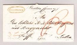 Österreich EISENERZ Im Kreis Vorphila Brief 1832 Nach Loeben - Österreich