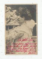 Cp , Spectacle , Artiste , Voyagée 1901 , ROSE DEMAY - Künstler
