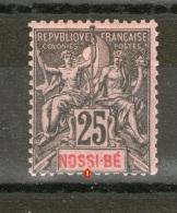 """N° 34°_""""S"""" Cassé_cote 17.50 - Nossi-Bé (1889-1901)"""
