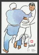 CARTE MAXIMUM DE BELGIQUE - JUDO MASCULIN