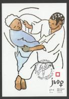 CARTE MAXIMUM DE BELGIQUE - JUDO FEMININ