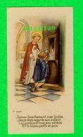 IMAGES RELIGIEUSES - ENFANT AU CONFESSIONALE - J'AVOUE FRANCHEMENT MES FAUTES - CC No 2105 - - Andachtsbilder