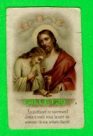 IMAGES RELIGIEUSES - EN INSTITUANT CE SACREMENT JÉSUS A VOULU NOUS LAISSER UN SOUVENIR - - Images Religieuses