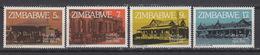 ZIMBABWE 21-24 MNH ** Post Office Savings Bank (1980) - Zimbabwe (1980-...)