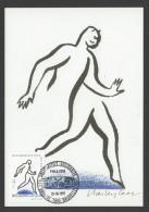 CARTE MAXIMUM DE BELGIQUE - LA SCLEROSE EN PLAQUES : DESSIN SYMBOLIQUE - Malattie