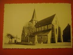 HORRUES ( SOIGNIES ) ------ Chaussée Notre Dame Louvignies --- L'Eglise Et Le Monument (erreur Au Niveau De La Légende?) - Soignies
