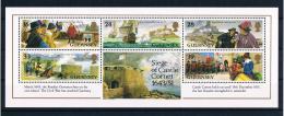Guernsey 1993 Schloß Cornet Block 10 ** - Guernsey