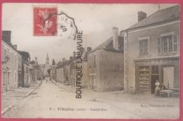 36 - VILLEDIEU--Grande Rue--Epicerie---animé - Frankreich