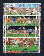 Guernsey 1996 Fußball Mi.Nr. 693/700 Kpl. Satz ** - Guernsey