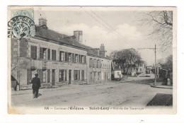 LOIRET  /  Environs  D' ORLEANS  /  SAINT-LOUP  /  ARRIVEE  DES  TRAMWAYS  /  Edit.  B.F.  N° 196  ( A Voyagé Le 31-12 ) - France
