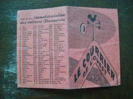 """Calendrier 1959 Publicitaire: """"Le Courrier De L'Ouest"""" - Calendriers"""
