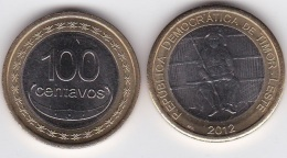 Timor - 100 Centavos 2012 UNC Lemberg-Zp - Timor