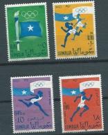 Somalie  - Yvert Serie  N°4 , 5  Plus Aérien 5 , 6 Tous ** Sup  - Ava3903 - Somalia (1960-...)