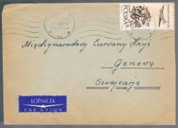 Polska, 1959, For Geneve - Covers & Documents