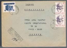 Polska, 1959, For Geneve - Storia Postale