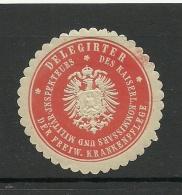 Deutschland Keiserreich Sehr Alte Siegelmarke - Duitsland