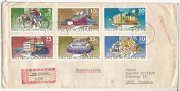 ALEMANIA DDR ELSTERBERG CC CERTIFICADA JUEGOS OLIMPICOS DE MONTREAL 1976 CICLISMO ATLETISMO - Sommer 1976: Montreal