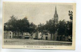 56 CARENTOIR La Place Du Bourg Coté Est écrite Du Village En 1942 Longuement      /D16-2016 - France