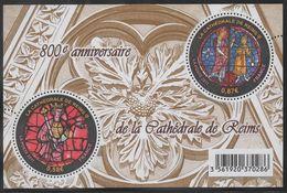 2011 - FRANCIA / FRANCE - 800° ANNIVERSARIO DELLA CATTEDRALE DI REIMS - 800th ANNIVERSARY OF THE CATHEDRAL OF REIMS. MNH - Francia