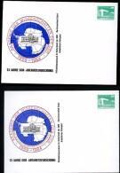 DDR PP18 C2/003 Privat-Postkarte ZUDRUCK VERSCHOBEN Antarktisforschung 1984 - Privatpostkarten - Ungebraucht