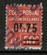 FRANCE  Scott # Q 87 VF USED - Parcel Post