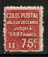 FRANCE  Scott # Q 93 F-VF USED - Parcel Post
