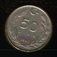 MONETA TURCA - 50 LIRE - 1987 - Turchia