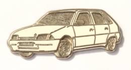 Pin's CITROËN AX Blanche - Zamac - Decat - F795 - Citroën