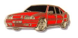 Pin's CITROËN BX Rouge - Zamac - Decat - F799 - Citroën
