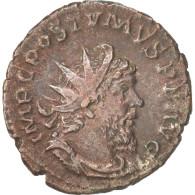 Postumus, Antoninianus, Cologne, TTB+, Billon, RIC:77 - 5. L'Anarchie Militaire (235 à 284)