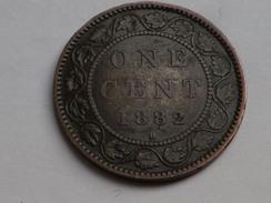 CANADA 1 CENT 1882 H  KM 7 -BRONZE - VICTORIA    TTB - Canada